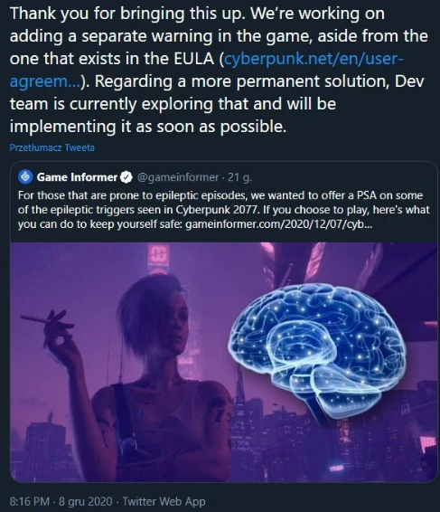 Cyberpunk padaczka